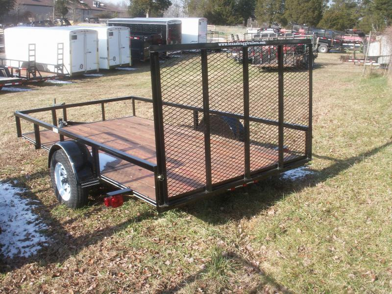 2016 Texas Bragg Trailers LD 29 12 W/GATE Utility Trailer