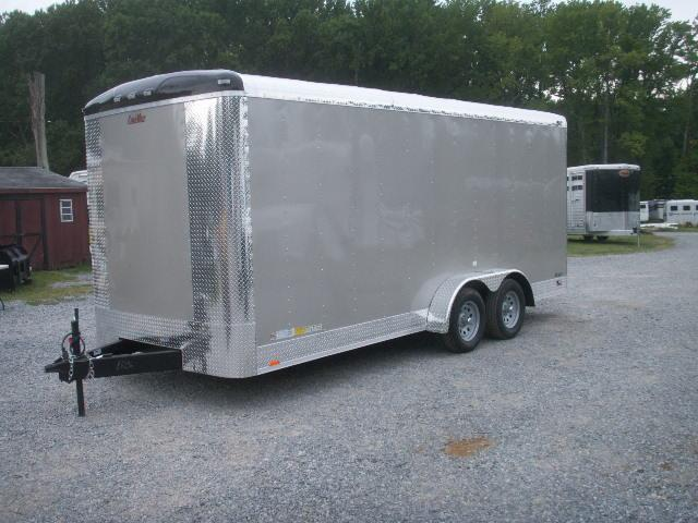 2015 Cargo Mate 7 X 18 X 7 RAMP DOOR Cargo / Enclosed Trailer