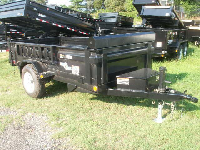 2016 Load Trail 10 SA WITH RAMPS Dump Trailer