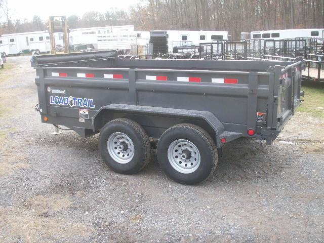 2017 Load Max 12 HD EXTRA WIDE Dump Trailer