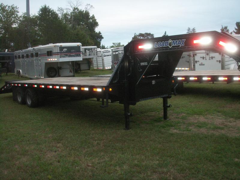 2013 Load Trail 28 GN 22400GVWR DOVE TAIL Equipment Trailer