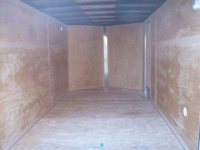2017 Homesteader 12 PATRIOT SPECIAL V-NOSE REAR RAMP Cargo / Enclosed Trailer