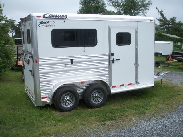 2015 Cimarron Trailers COX SIGNATURE SERIES WARMBLOOD Horse Trailer