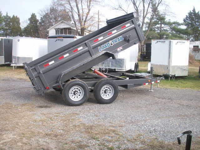 2016 Load Max 12 HEAVY DUTY Dump Trailer