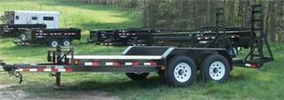 2015 Load Trail Bobcat Style Equipment Trailers