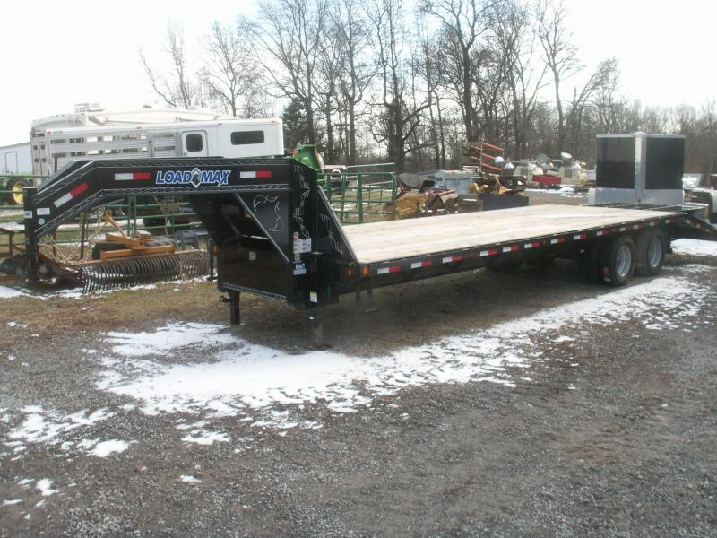 2016 Load Max 30 GN HD DOVE TAIL Equipment Trailer