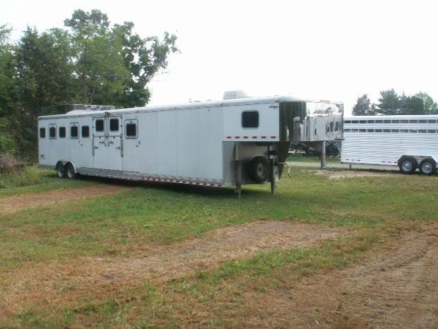 2003 SOONERTrailers CUSTOM BUILT 8-HORSE SLANT Horse Trailer