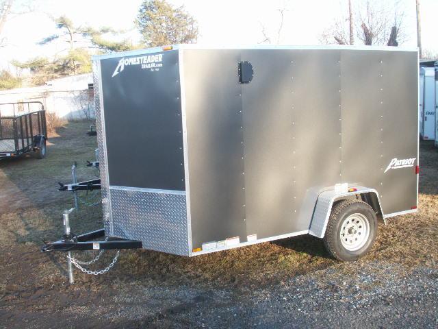 2015 Homesteader 610 V-NOSE RAMP DOOR Cargo / Enclosed Trailer