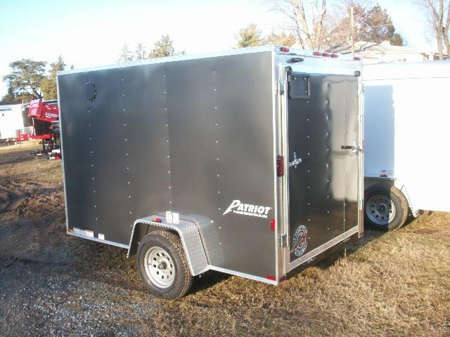 2015 Homesteader 610 V-NOSE RAMP DOOR Cargo / Enclosed Trailer