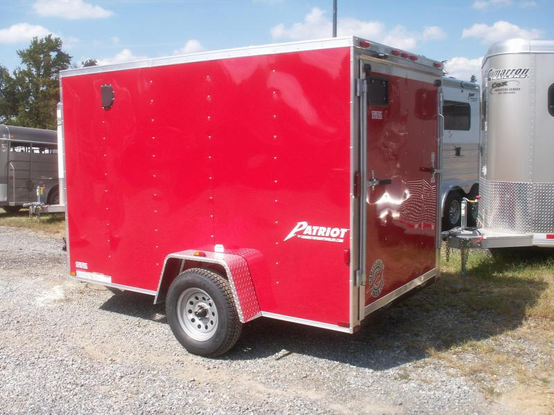 2017 Homesteader Inc. PATRIOT 10 V-NOSE Enclosed Cargo Trailer