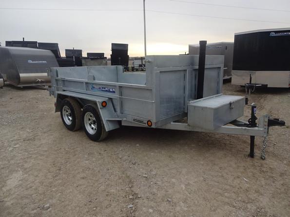 2017 Advantage 3 Ton Galvanized Dump 72 x 10!!