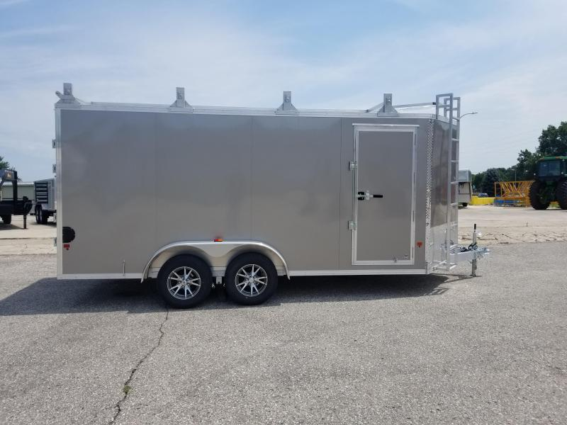 2018 Alcom-Stealth E-ZHAULER Enclosed Cargo Trailer