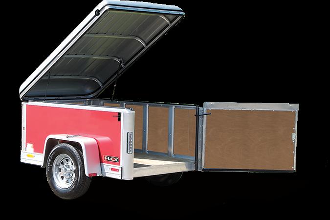 2017 Haulmark FL4X6DS0 Enclosed Cargo Trailer