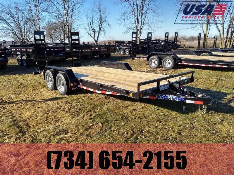 2018 Load Trail 83X16 10K Equipment Trailer