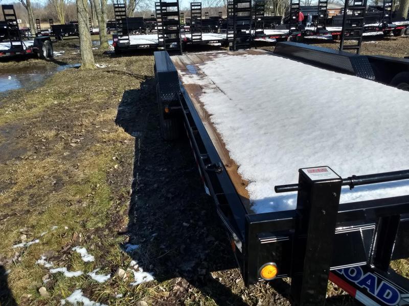 2018 Load Trail 83x22 21K Equipment Trailer