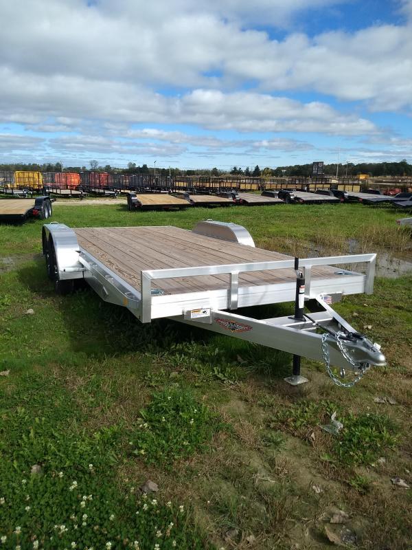 2018 82x18 H H Aluminum Car Hauler 7k Usa Trailer Sales 6