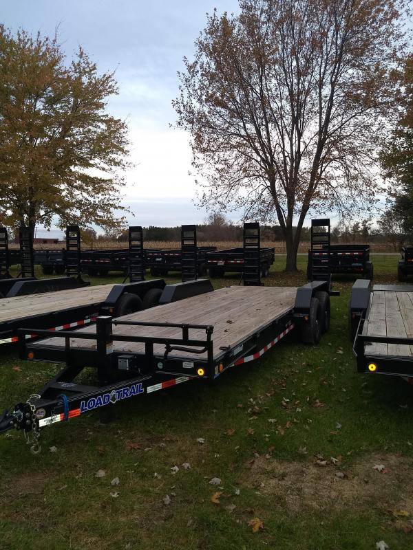 2019 Load Trail 22' 14K Equipment Trailer Michigan #1 Selling Brand Of Trailers