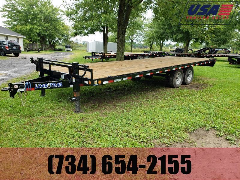 New 24' Deck Over Flatbed By Load Trail