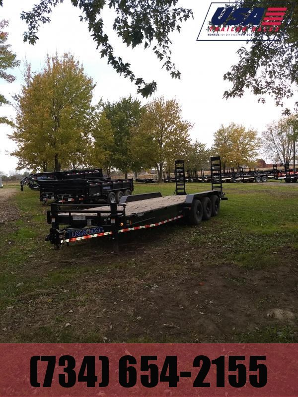 2019 Load Trail 24 Equipment Triple Axle Equipment Trailer