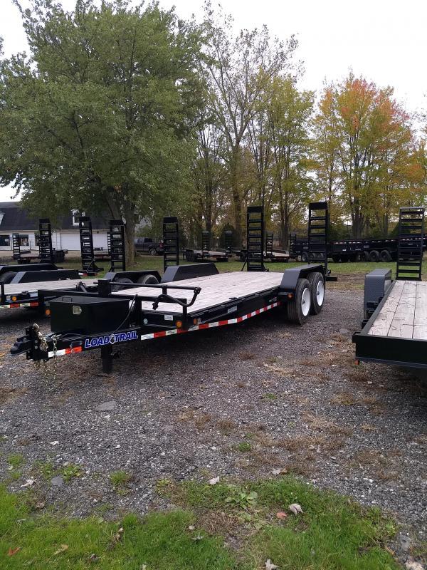 2017 Load Trail 80x20 16K Equipment Trailer Loaded