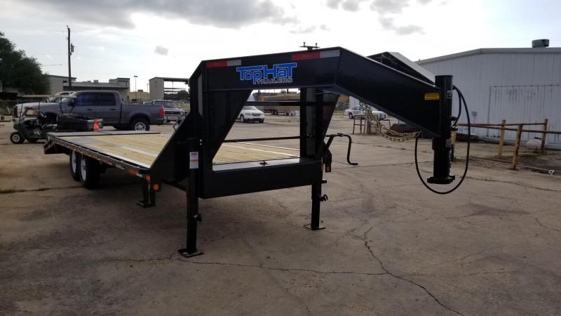 2017 Top Hat Trailers 20'+5' GN 159 Flatbed TH-50