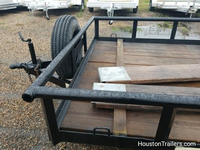 1990 FairWest Trailers 16' Pipetop Utility Trailer #8039