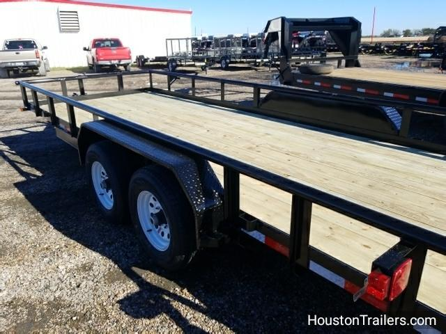 2018 Top Hat Trailers 20' x 7' HP Utility Trailer TH-111