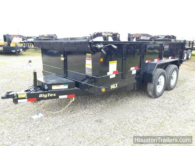 "2018 Big Tex Trailers 14LX 14' x 83""  Dump Trailer BX-129"
