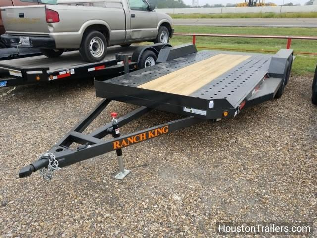 "2017 Ranch King Trailers 18' x 6'10"" Car / Racing Trailer RK-33"