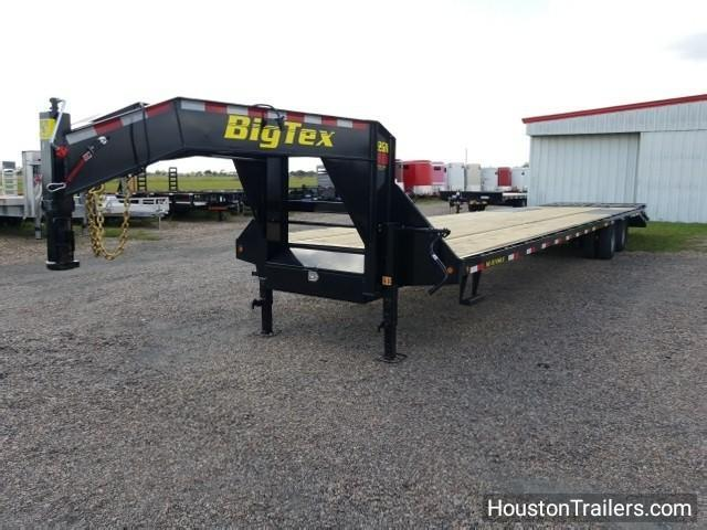 2018 Big Tex Trailers 22GN 35+5 Flatbed Trailer BX-105