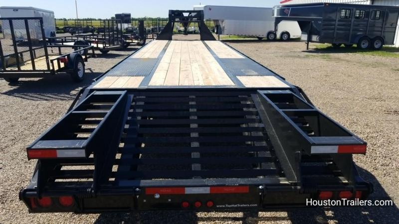 2018 Top Hat Trailers 259 HD 27+5 Flatbed Trailer TH-131
