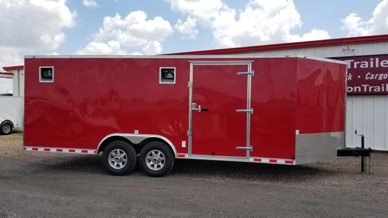 2017 Cargo Mate Trailers 20' X 8.5' Car / Racing Trailer FR-21