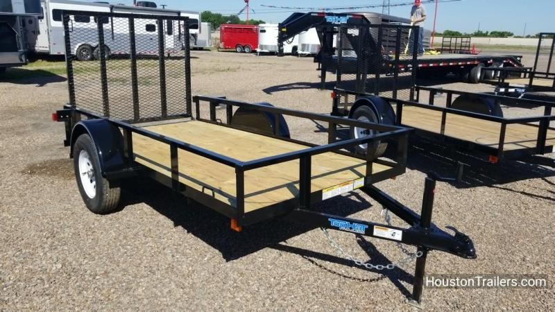 2018 Top Hat Trailers X 10' x 5' Utility Trailer TH-124