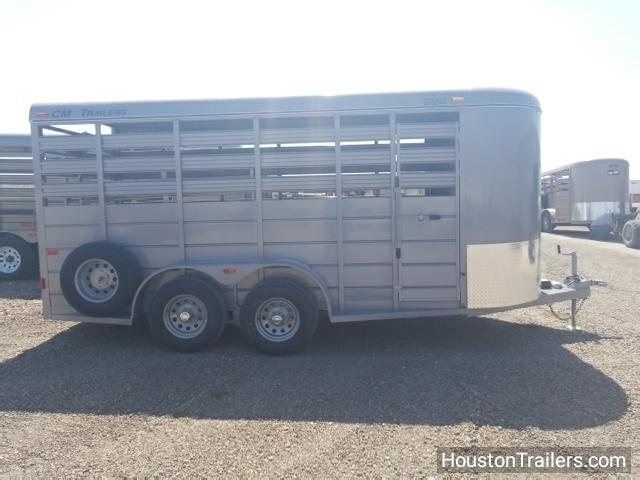 2018 CM 16' x 6' Stocker Livestock Trailer CM-48