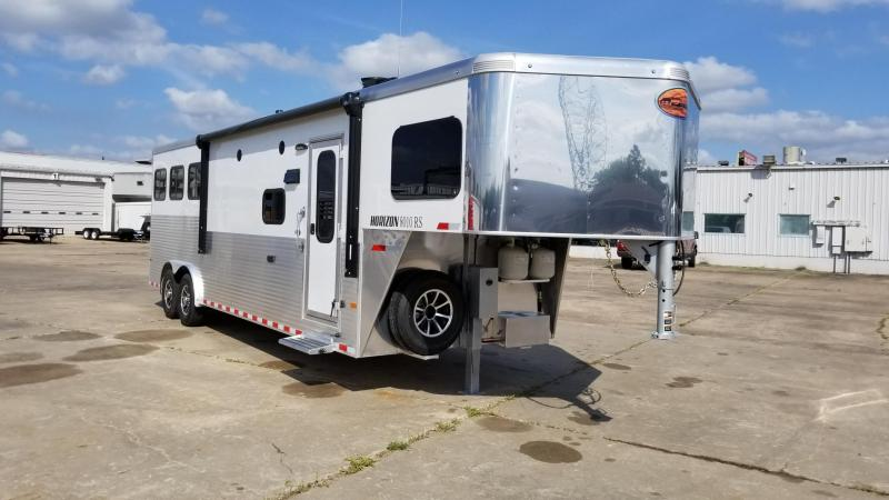 2018 Sundowner Trailers Horizon 8010 Rancher Sport 3H LQ Horse SD-36