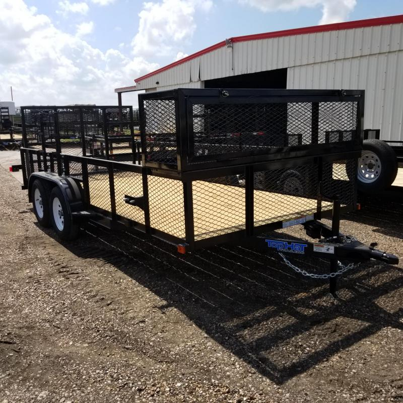 2018 Top Hat Trailers16' x 7'  RUNABOUT X Utility Trailer TH-88