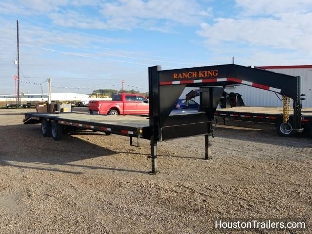 2018 Ranch King 32' Flatbed 27+5 GN Trailer RK-41