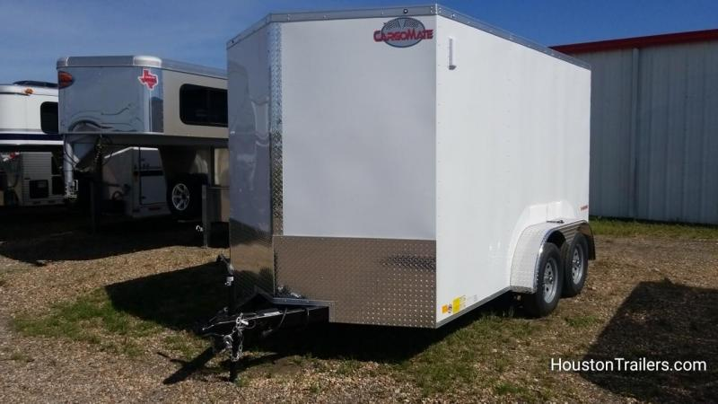 2018 Cargo Mate 7' x 12' Enclosed Cargo Trailer FR-48