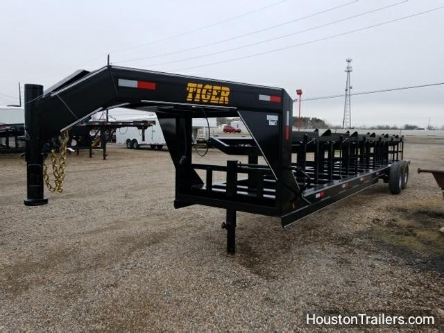 2018 Tiger 60x30 Hay 6 Bale GN Trailer TI-16