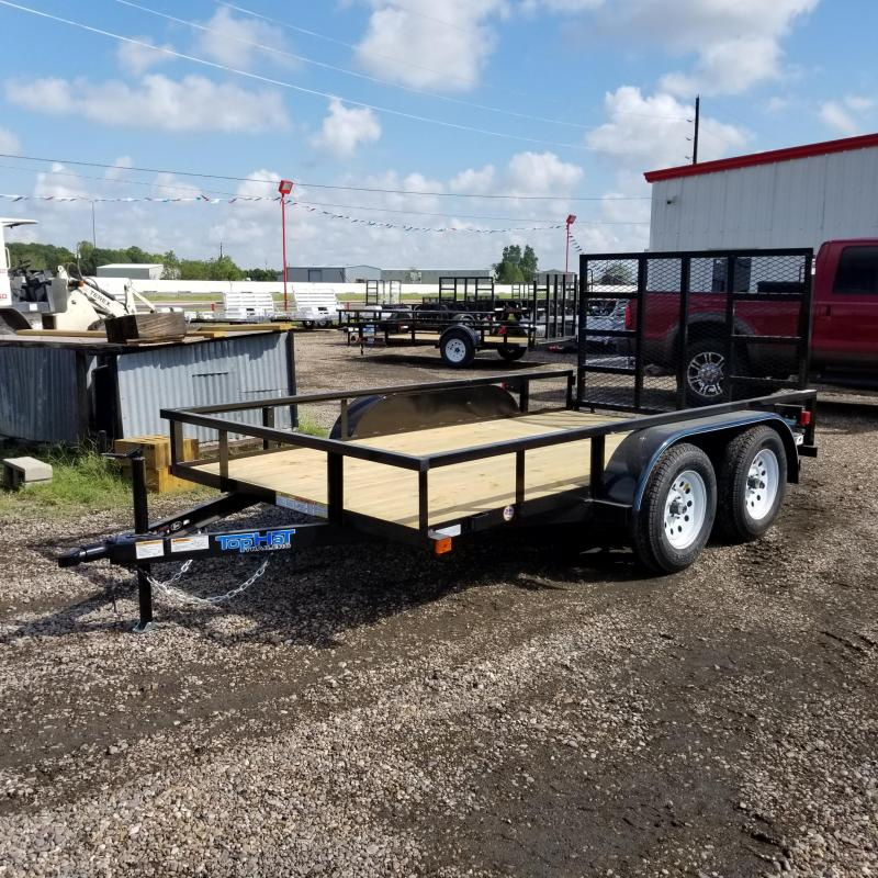 2018 Top Hat Trailers 12' x 6.5'  LDT Utility Trailer TH-90