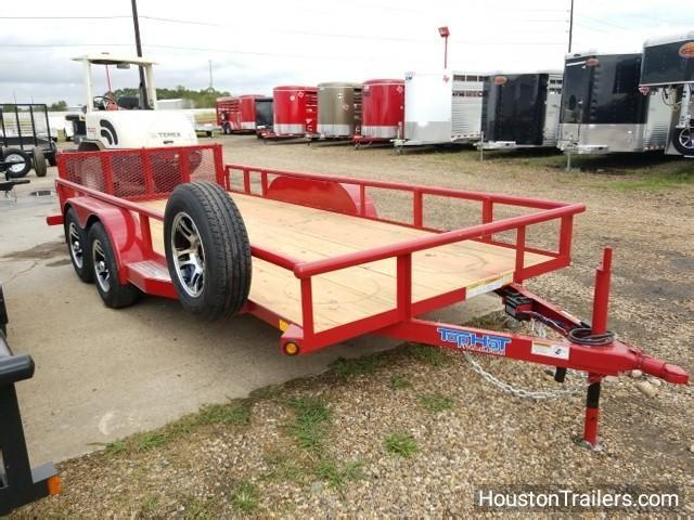 2018 Top Hat Trailers 16' x 6.5' MP Utility Trailer TH-103