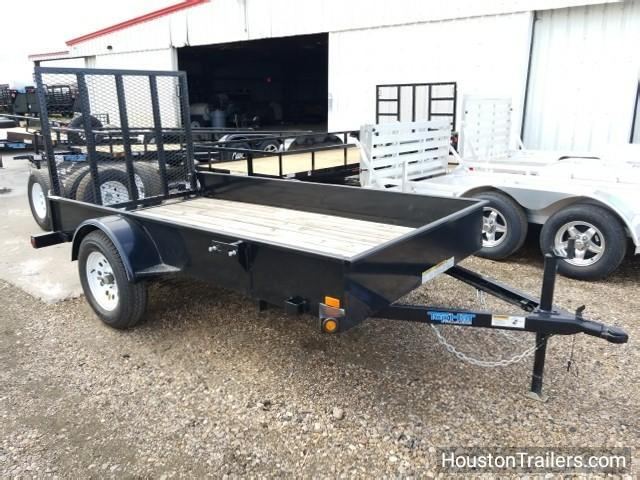 2017 Top Hat Trailers 10' Landscape DSS Utility Trailer TH-106