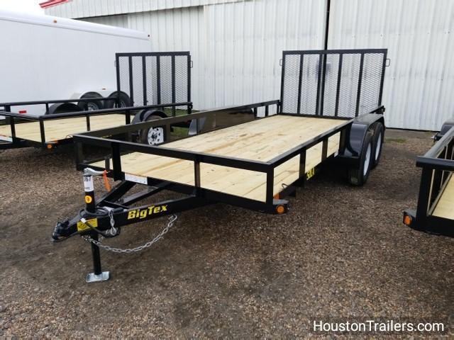 """2018 Big Tex Trailers 50LA 16' X 77"""" Utility Trailer BX-111"""