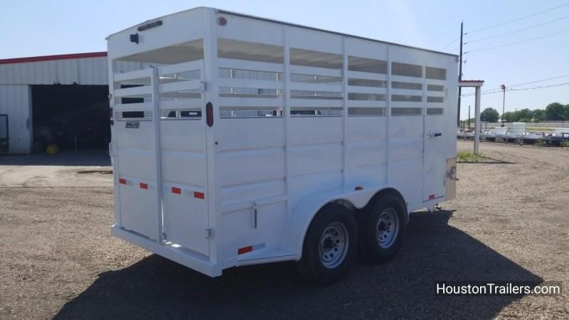 2018 Delco Trailers 6'x16' Livestock Cattle Trailer DEL-29