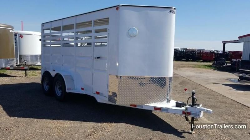 2018 Delco Trailers 6'x16' Livestock Cattle Trailer DEL-29