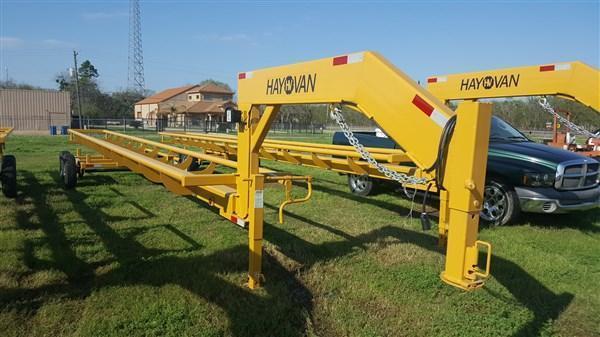 HayVan Hay Liner 36' Rear Load Neck