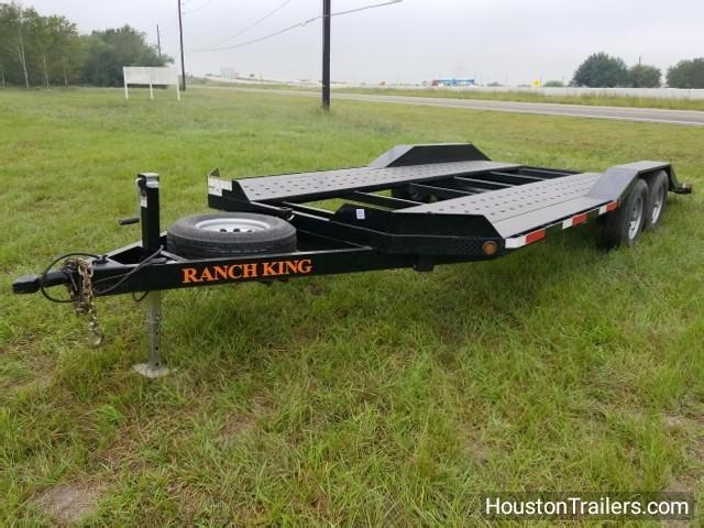 2016 Ranch King 20' x 8.5' Car / Racing Trailer