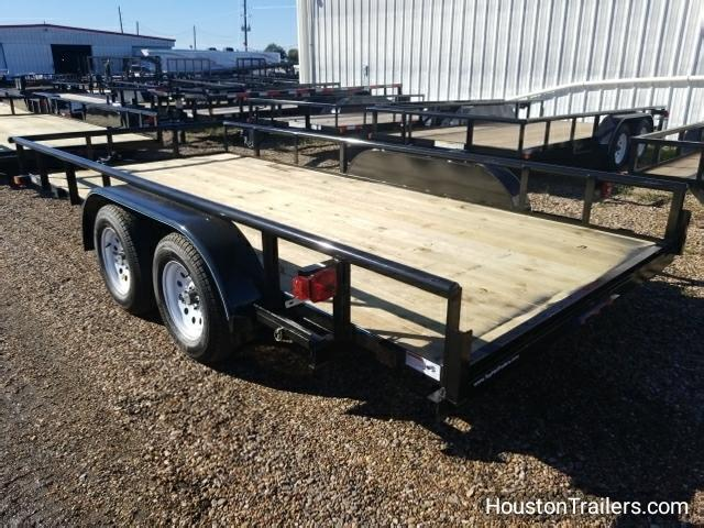 2018 Top Hat Trailers 16' x 7' MP Utility Trailer TH-113