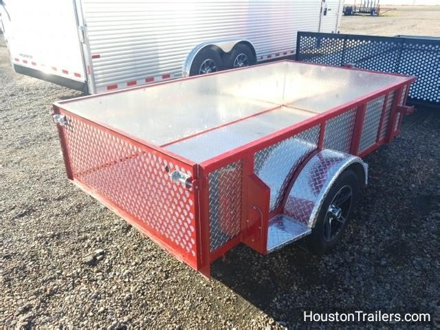 2017 Homemade 4' x 8' Utility Trailer CO-1027