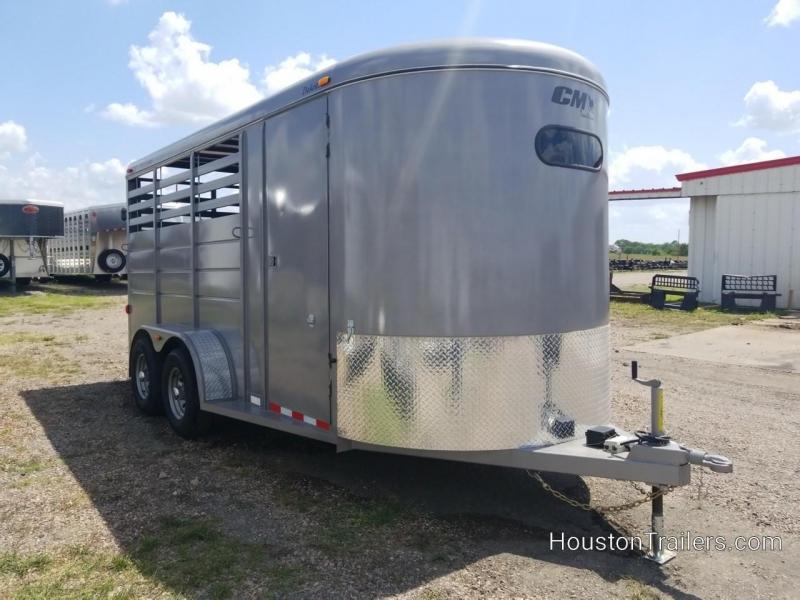 "2018 CM Dakota 3 Horse Trailer 3H 17' x 6'8"" CM-57"